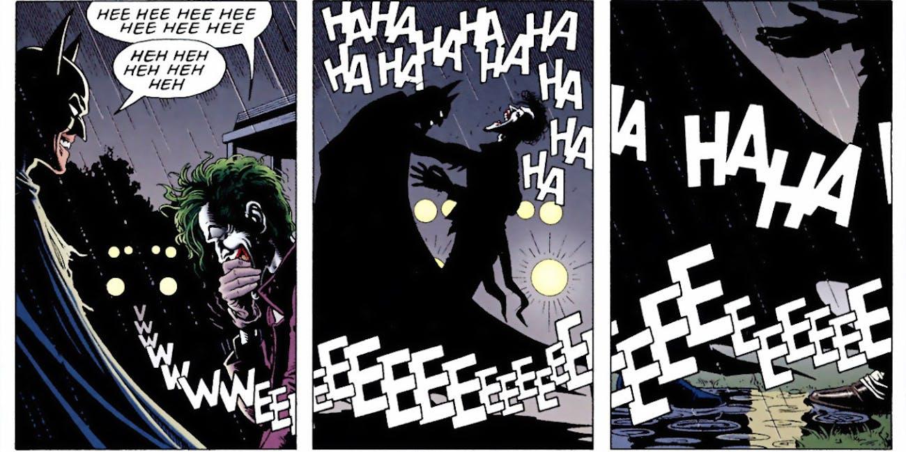 The Killing Joke DC Joker