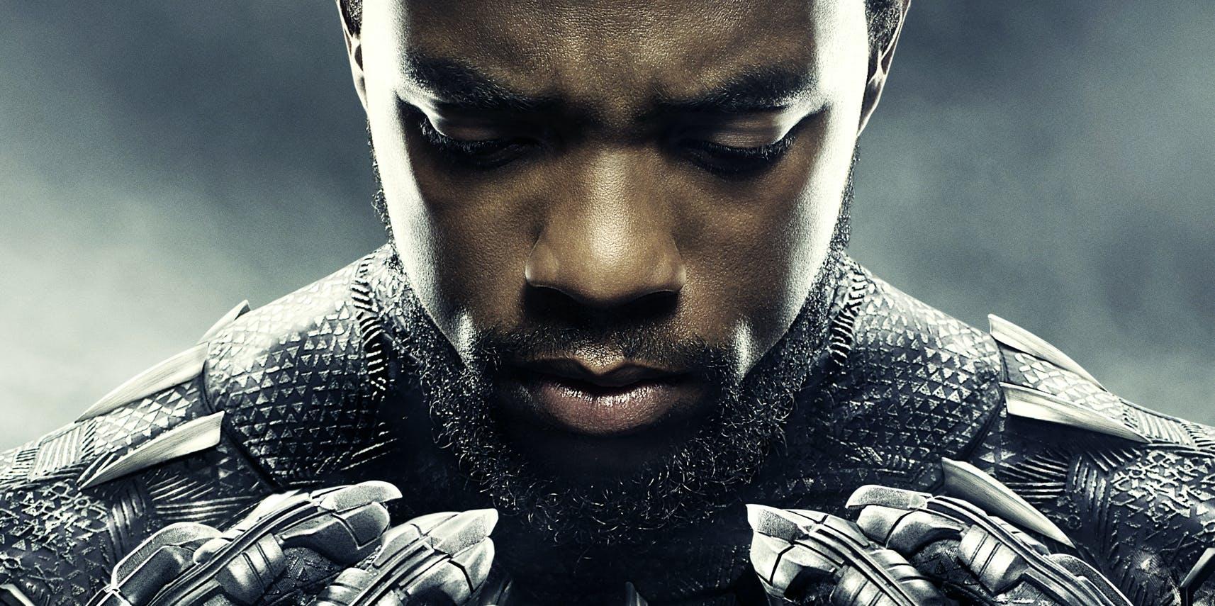 Resultado de imagen para black panther poster