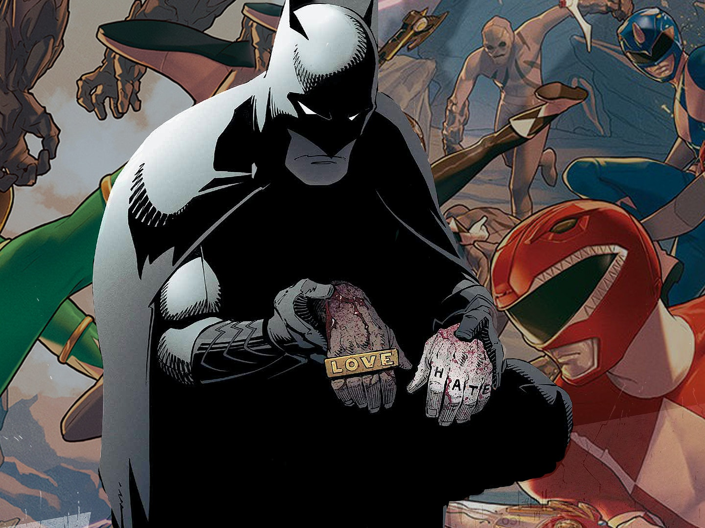 Will Batman Be Pissed the Power Rangers Kill for Justice?