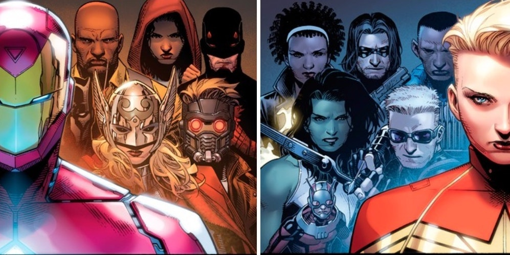 the teams for marvel's 'civil war ii' have been revealed | inverse