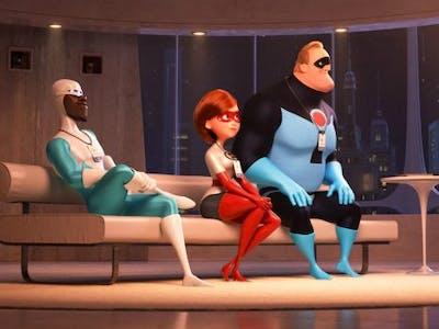 The 'Incredibles' get a bit of rebranding in 'Incredibles 2'.