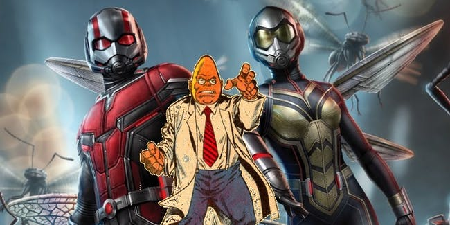 'Ant-Man and the Wasp' has a Marvel Egghead Easter egg.