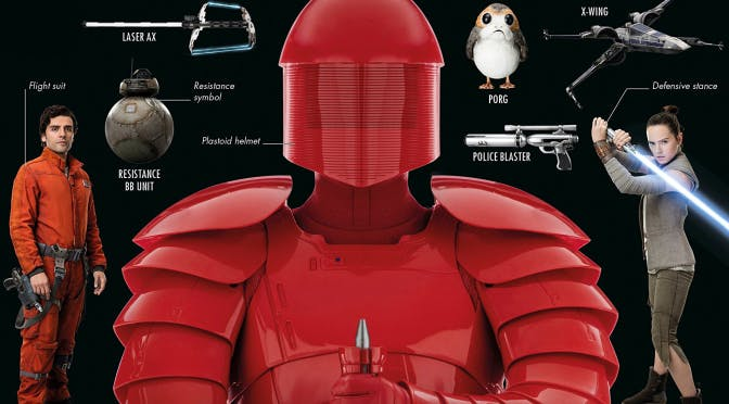 'The Visual Dictionary' offers a lot of insight on random things from 'The Last Jedi'.