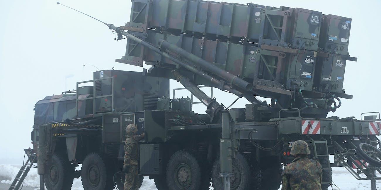 Patriot Missile Germany