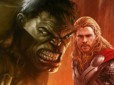 Thor's Getting Swole AF to Beat Up Hulk in 'Ragnarok'