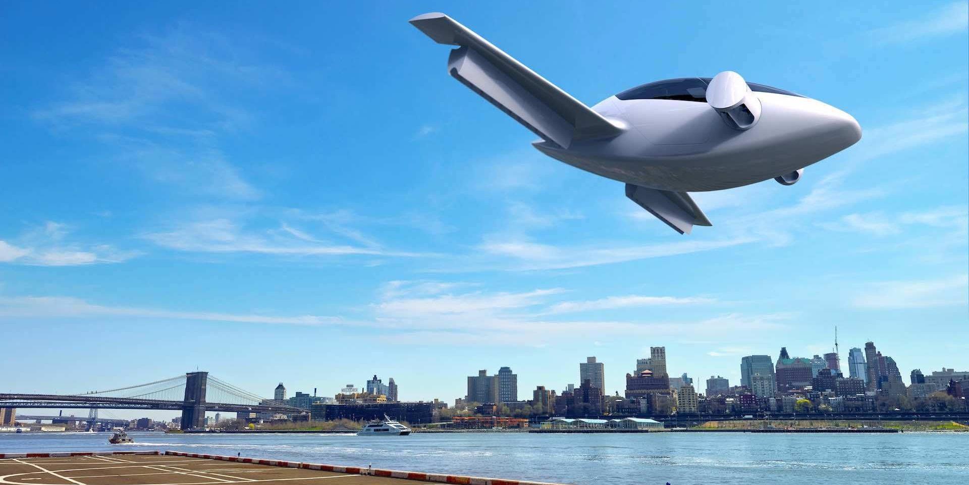 lilium aviation takeoff