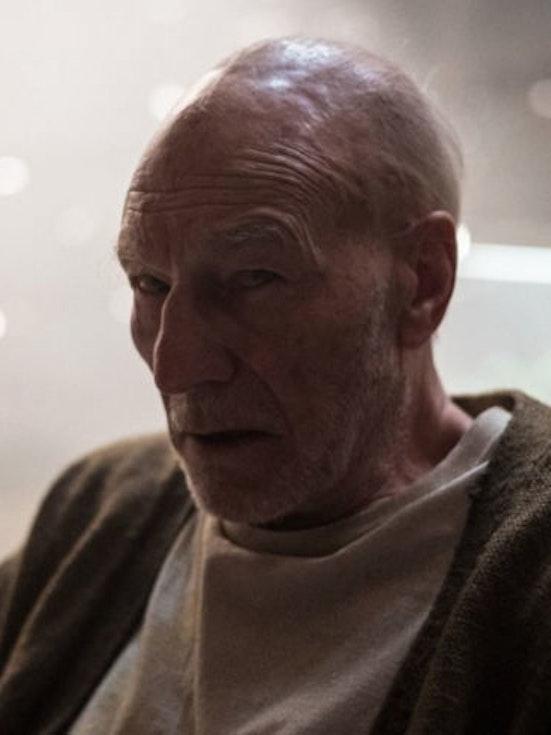 Patrick Stewart as Professor X in Twentieth Century Fox 'Logan'