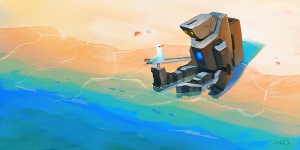 Beach Robotby zgul-osr1113