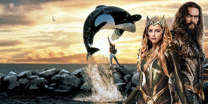 Aquaman Free Willy