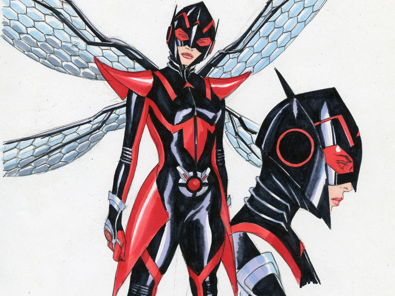 The Wasp Just Got a New Origin Story