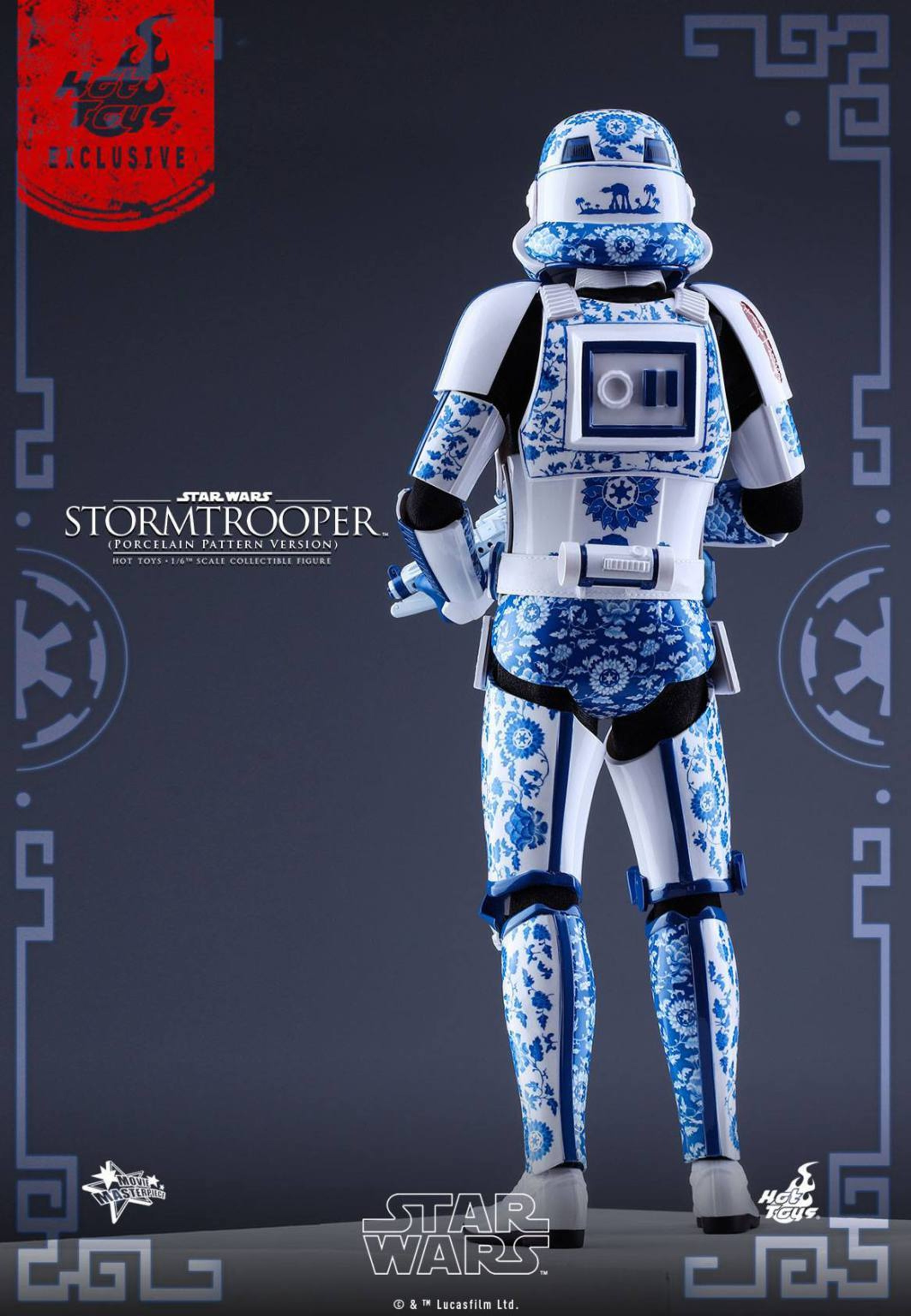 This 1/6 scale action figure is a little short to be a stormtrooper.