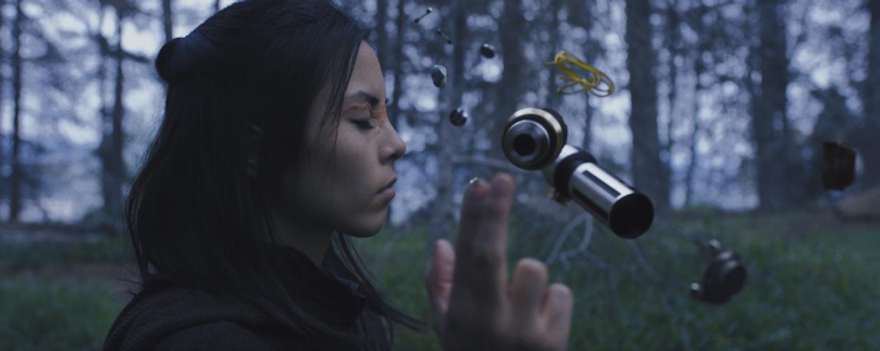 Jedi Master Ko Hoshino assembles her lightsaber in 'Star Wars' fan film 'Hoshino'