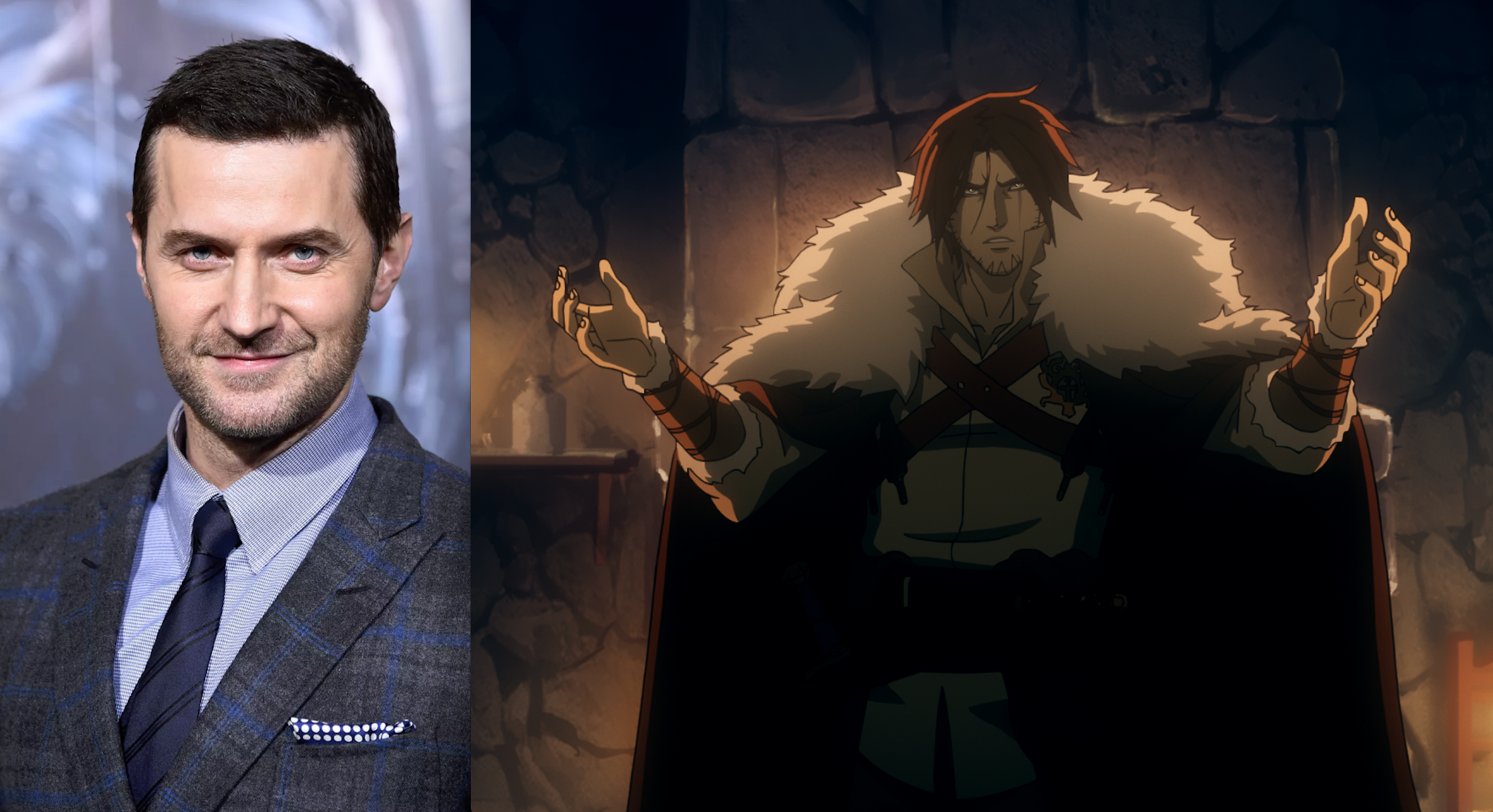 Richard Armitage And James Callis Cast In Netflix's Castlevania TV Series