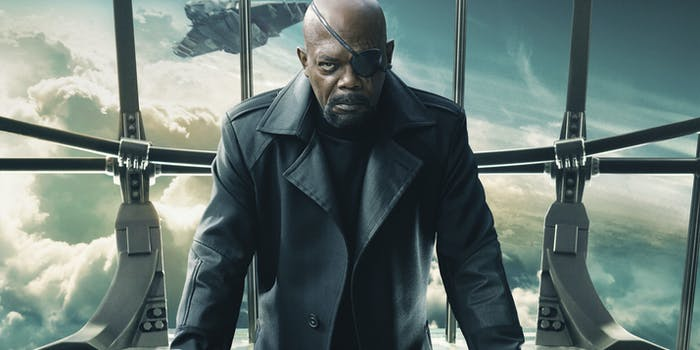Marvel Sam Jackson Nick Fury