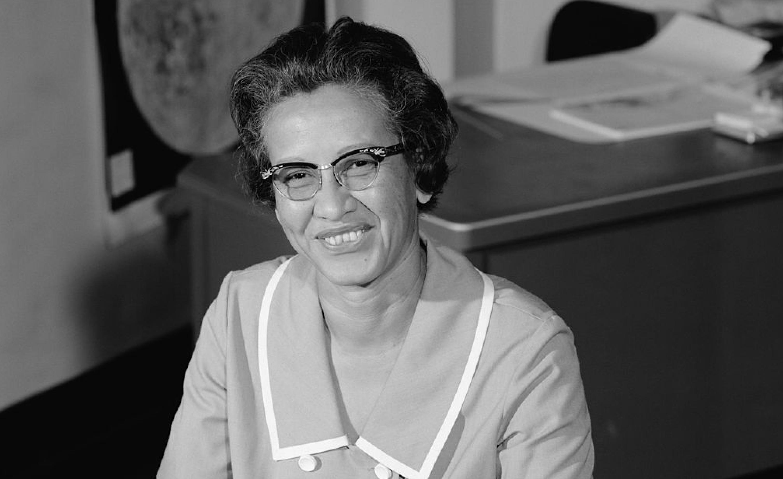Johnson in 1966 at NASA.