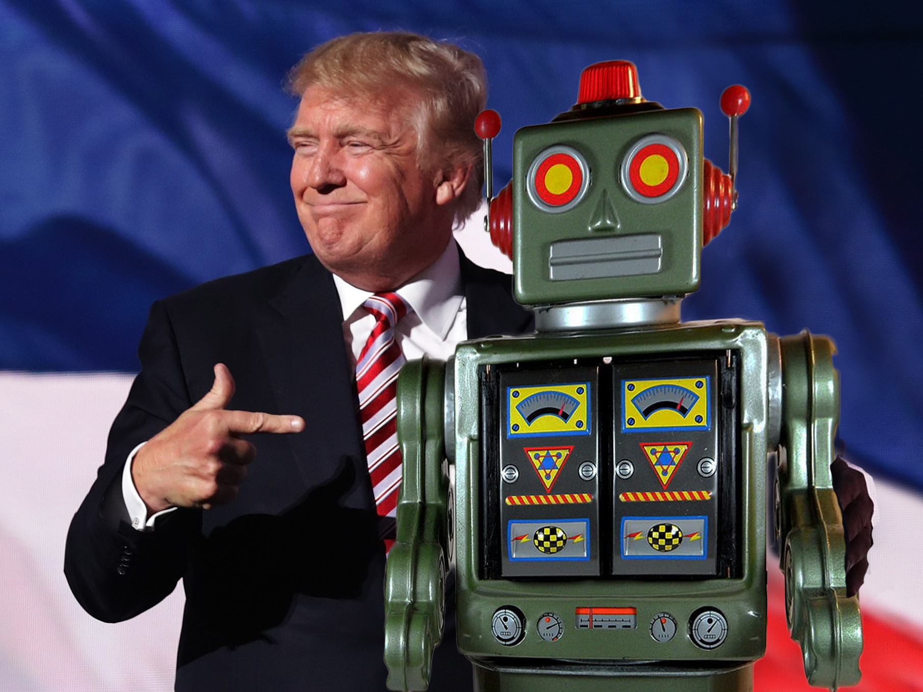Trump Voters Don't Sweat Robot Outsourcing