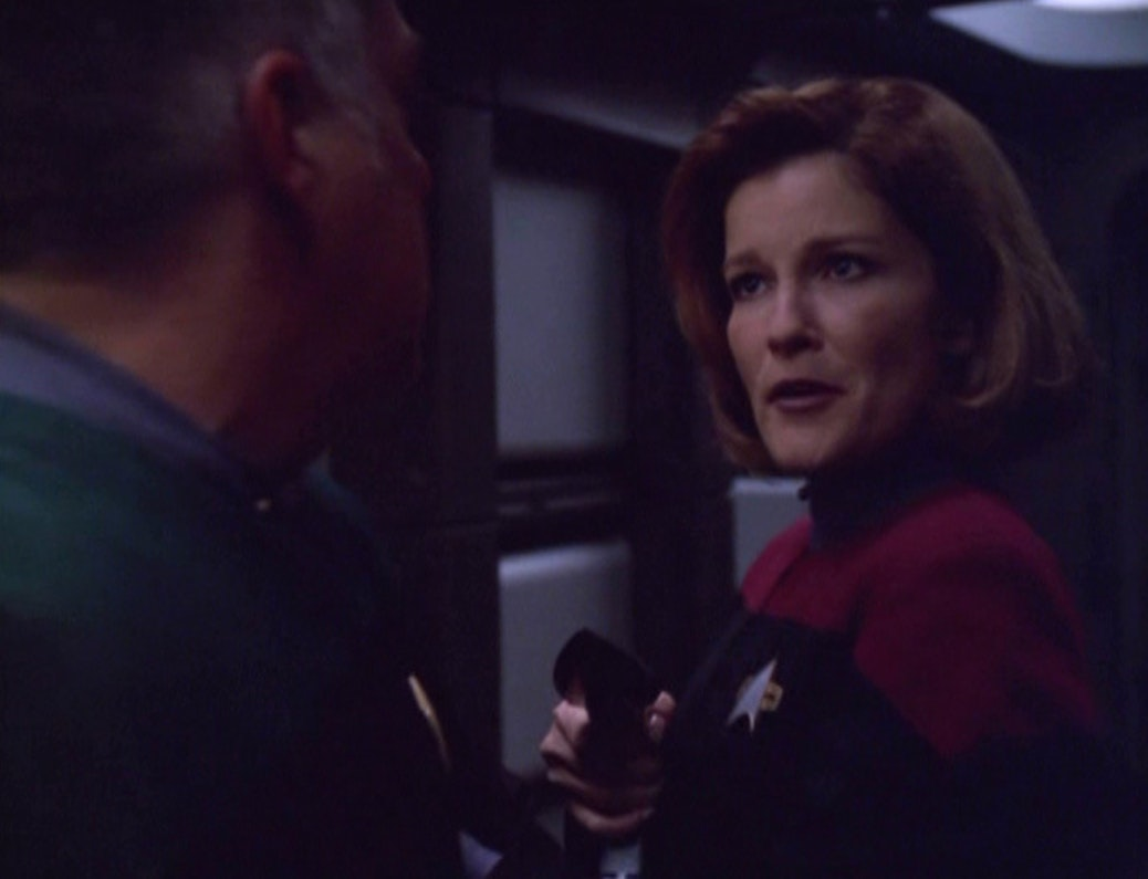All the 39 star trek beyond 39 easter eggs you want right here for Mirror janeway