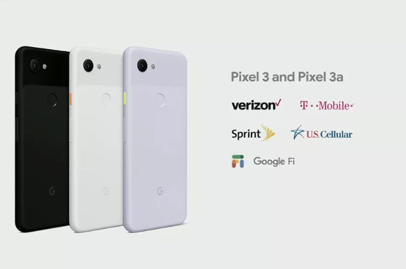 Google Pixel 3a: How to Get It on Verizon, T-Mobile, Sprint