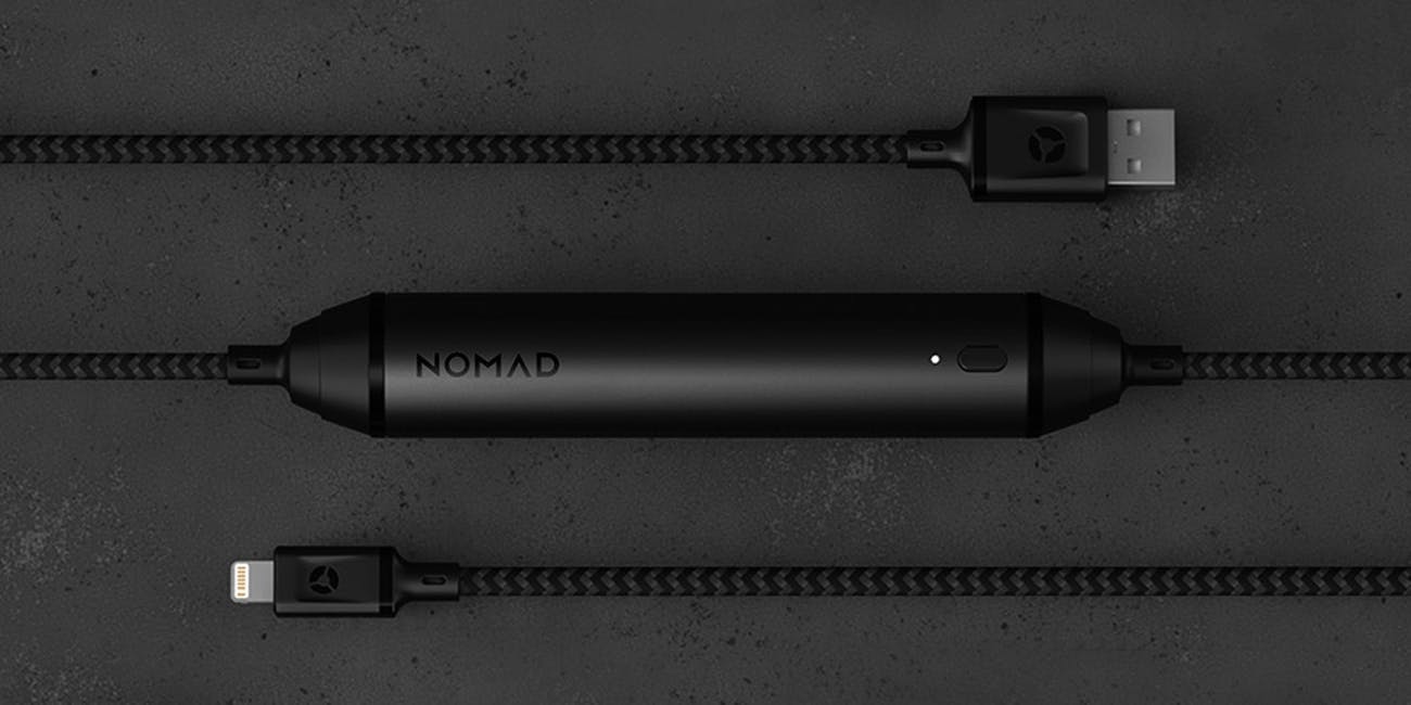 Nomad 1.5M Battery Lightning Cable