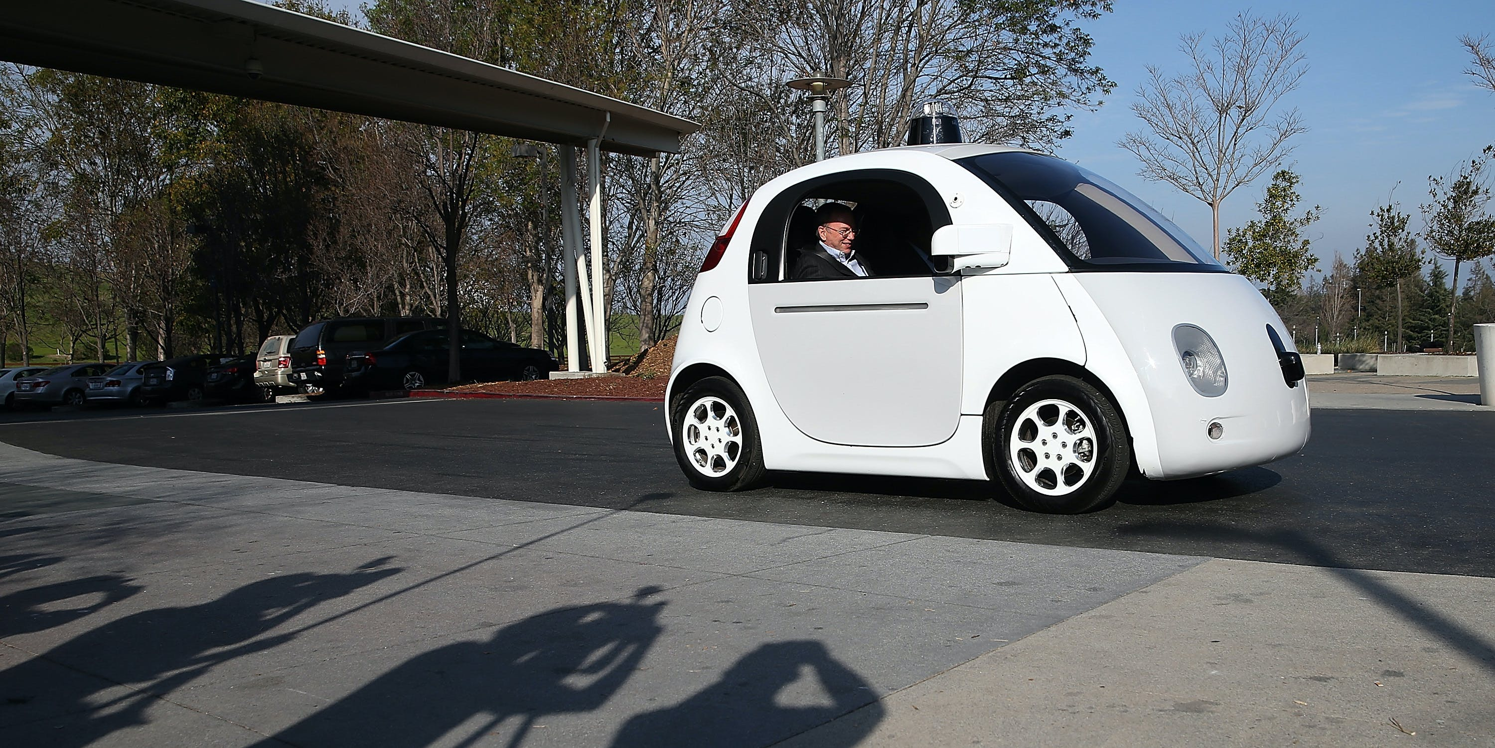 Google's Driverless Car Computer Will Be Treated the Same as a Human Driver