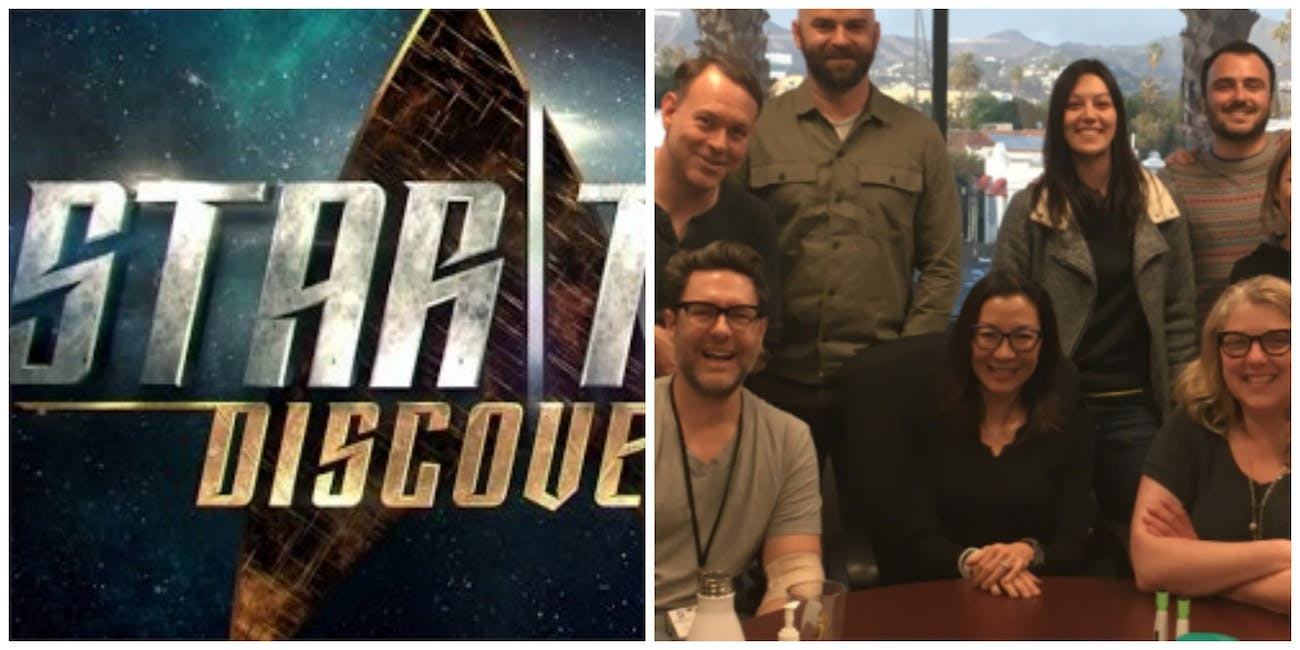 star trek discovery is filming still getting new writers - When Does Star Trek Discovery Resume