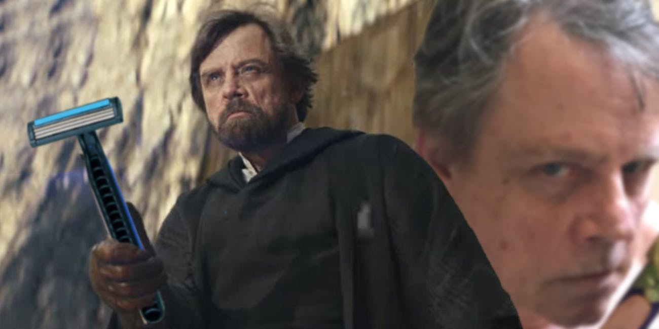 Luke Skywalker Shaved