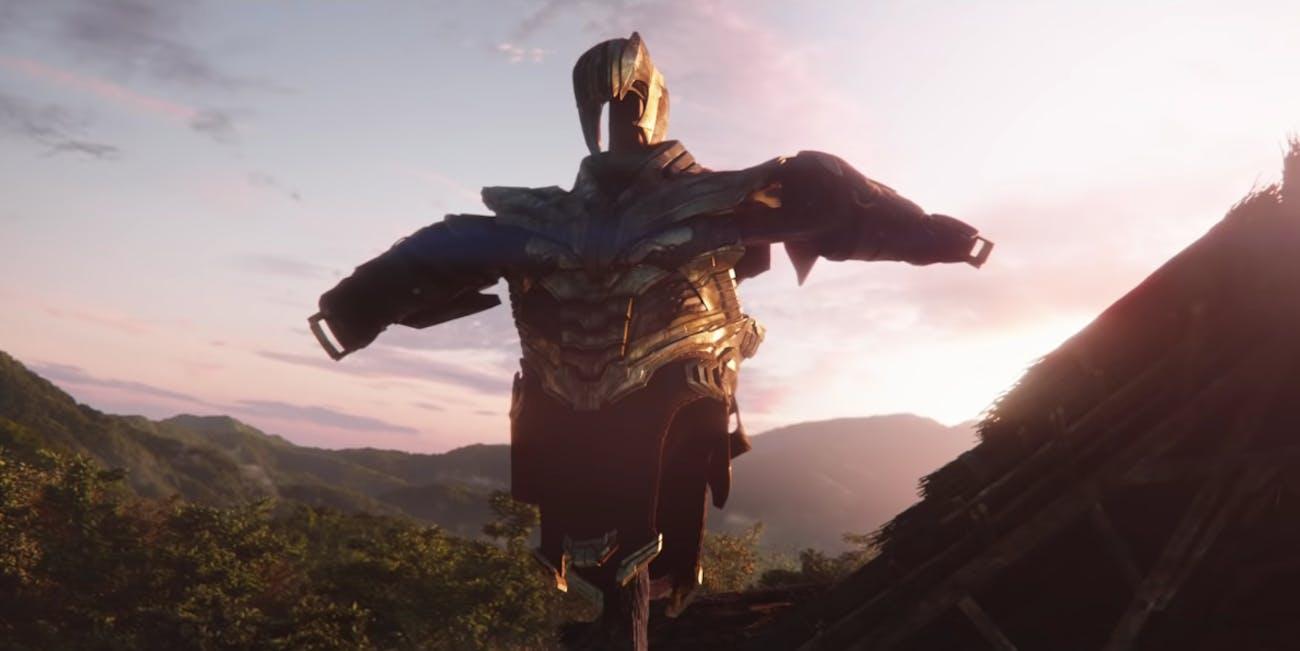 Thanos Avengers 4 Endgame
