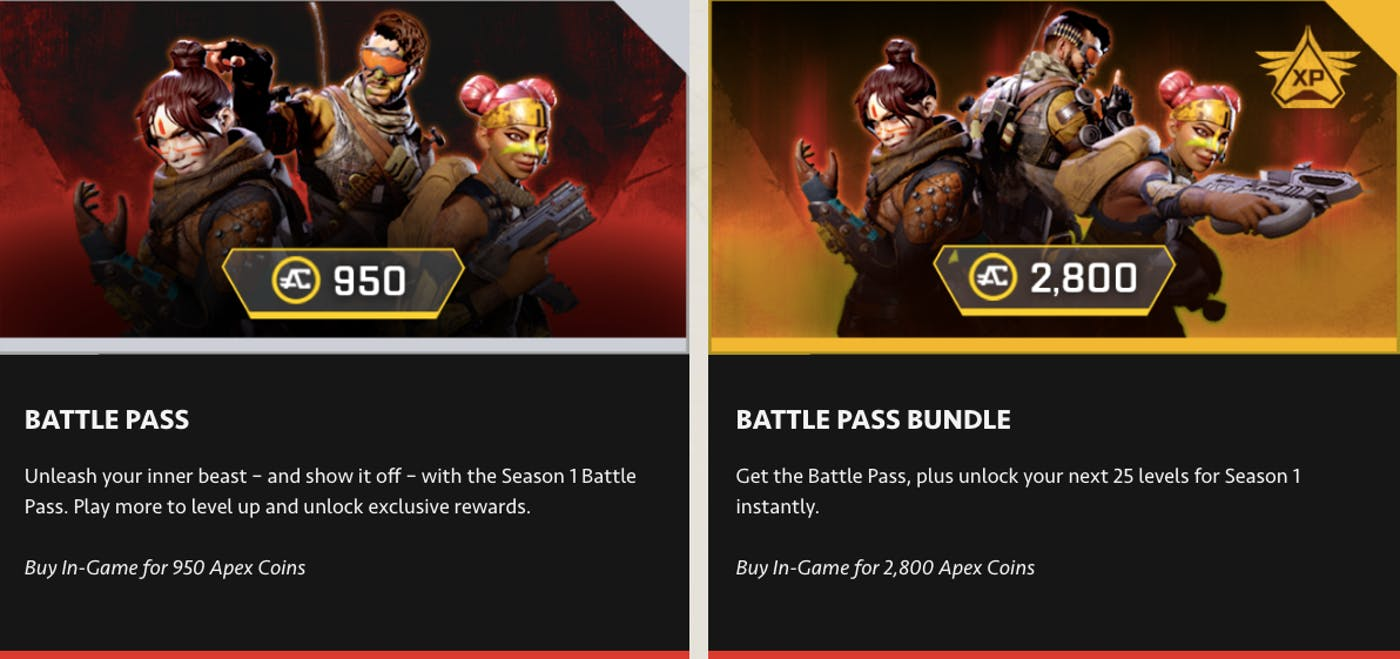 Apex Legends Season 3 Battle Pass Release Date Crypto
