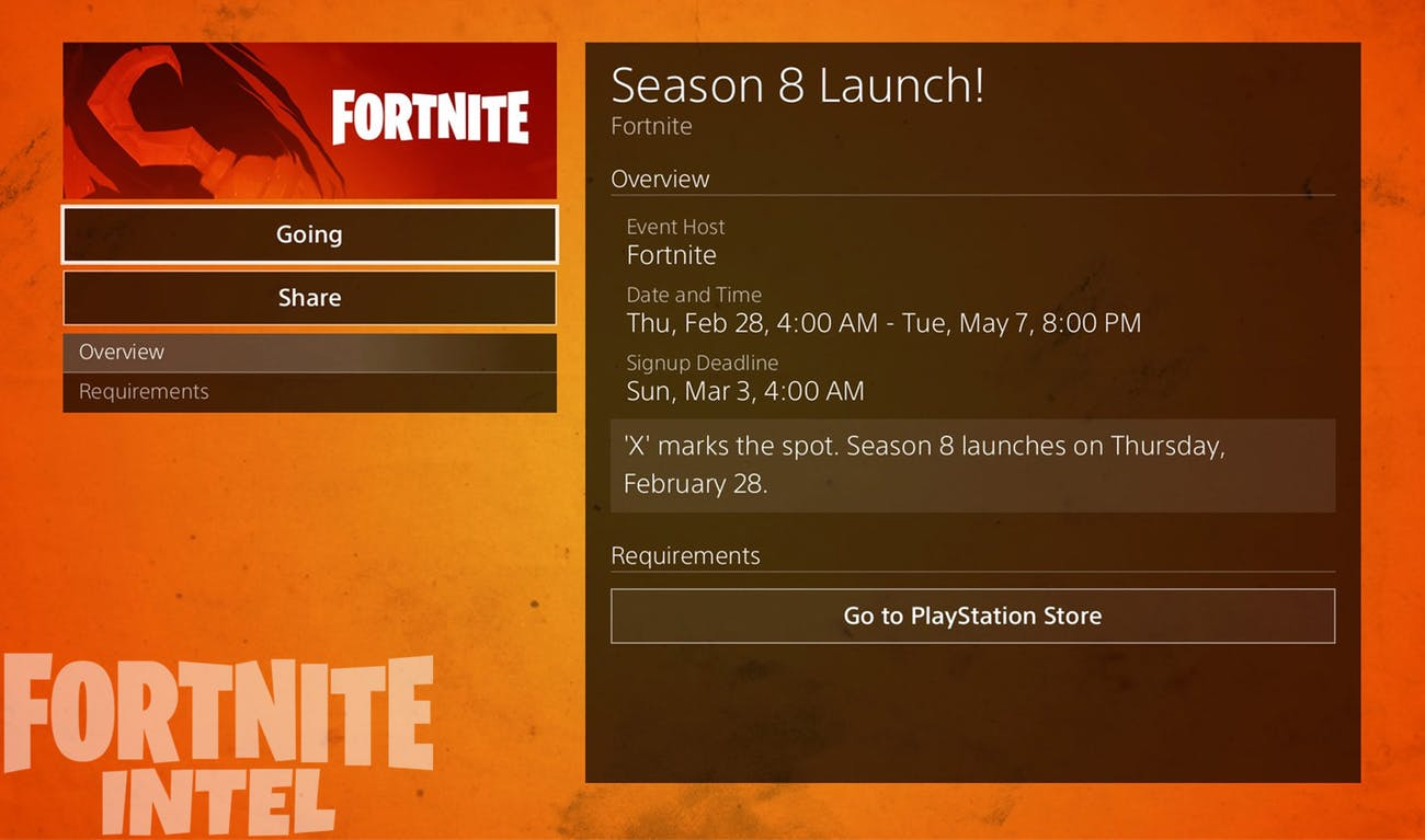 Fortnite' Season 8 Start Time: When Exactly Is Season 8 Coming Out