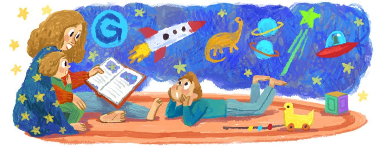 Poland mother's day google doodle 2014