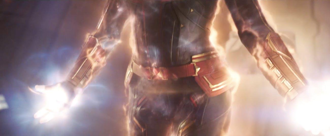 'Captain Marvel' Power Up
