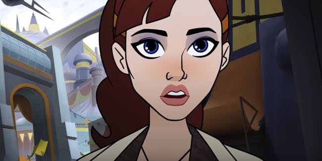 Qi'ra appears in a 'Forces of Destiny' short.