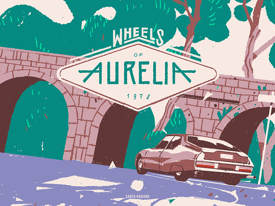 'Wheels of Aurelia' Is a 1970s Road Trip About Talking
