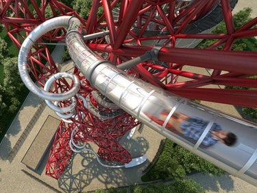 The World's Tallest, Longest, Fastest Tunnel Slide Opens in London