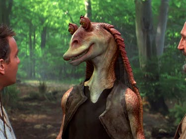 Jar Jar Rumored to Be Sad Clown in New 'Star Wars' Novel