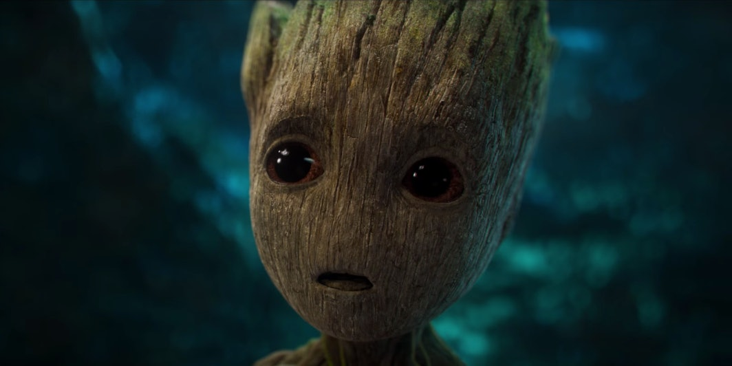 Marvel Guardians Galaxy Baby Groot