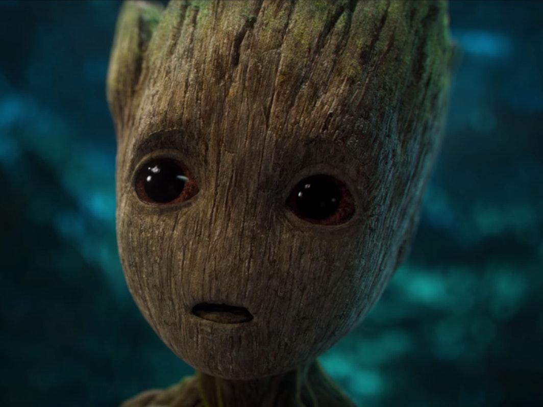 Marvel Guardians Galaxy Baby Groot