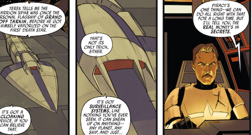 Panels from 'Poe Dameron #10'