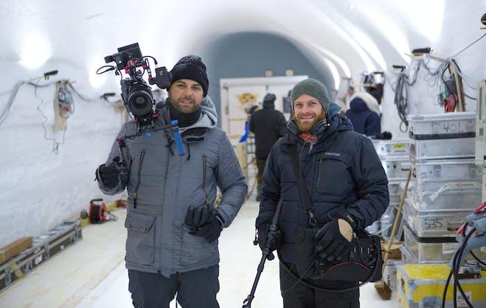 Filmmakers David Alvarado and Jason Sussberg.