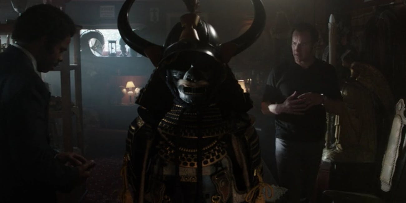 The Conjuring Samurai Armor Annabelle Comes Home