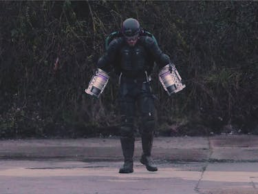 Why Richard Browning Built His Real-Life Iron Man Jet Pack Suit