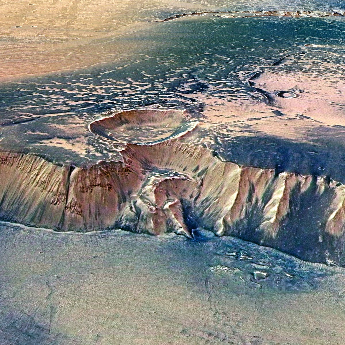 NASA Shares 360° Image of Mars Made With Facebook's Oculus Rift Technology