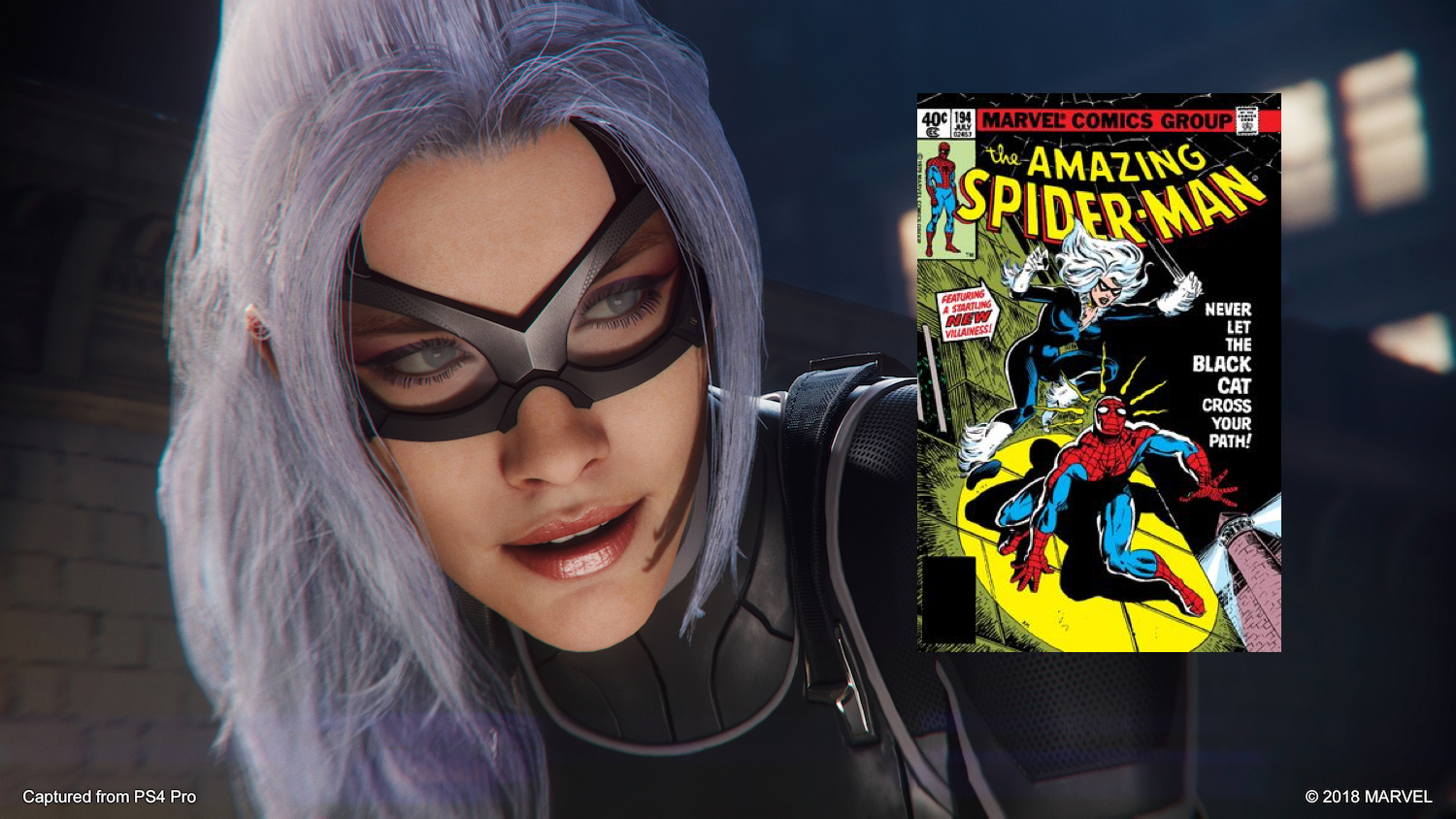 Spider Man Ps4 Dlc Update Who Is Black Cat In The Heist In The