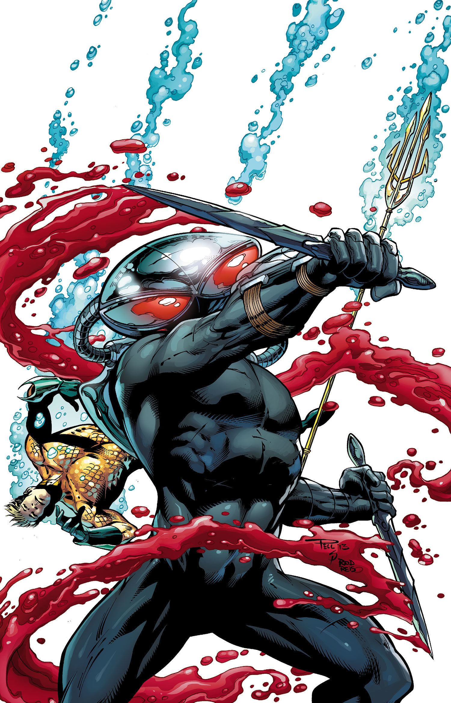 Black Manta from DC's Aquaman