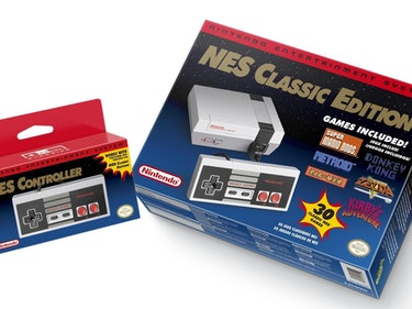 You Can Buy the Adorable NES Classic Edition Right Now