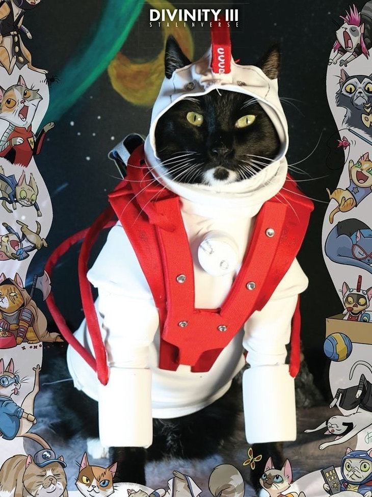 Valiant Comics Divinity USA Cat Cosplay Cover