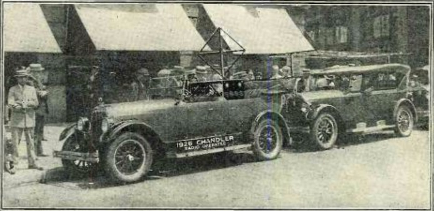 "The Houdina Radio Car circa 1925. It was dubbed ""American Wonder."""