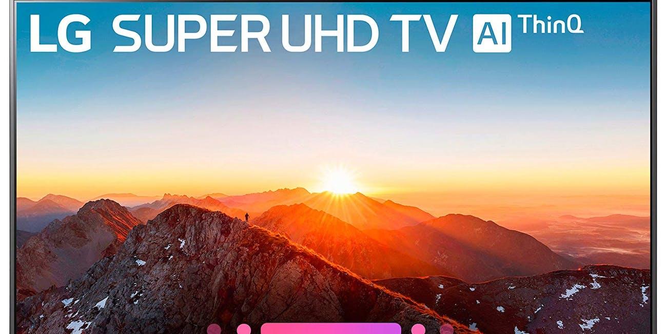 LG Super UHD 4K Smart TV