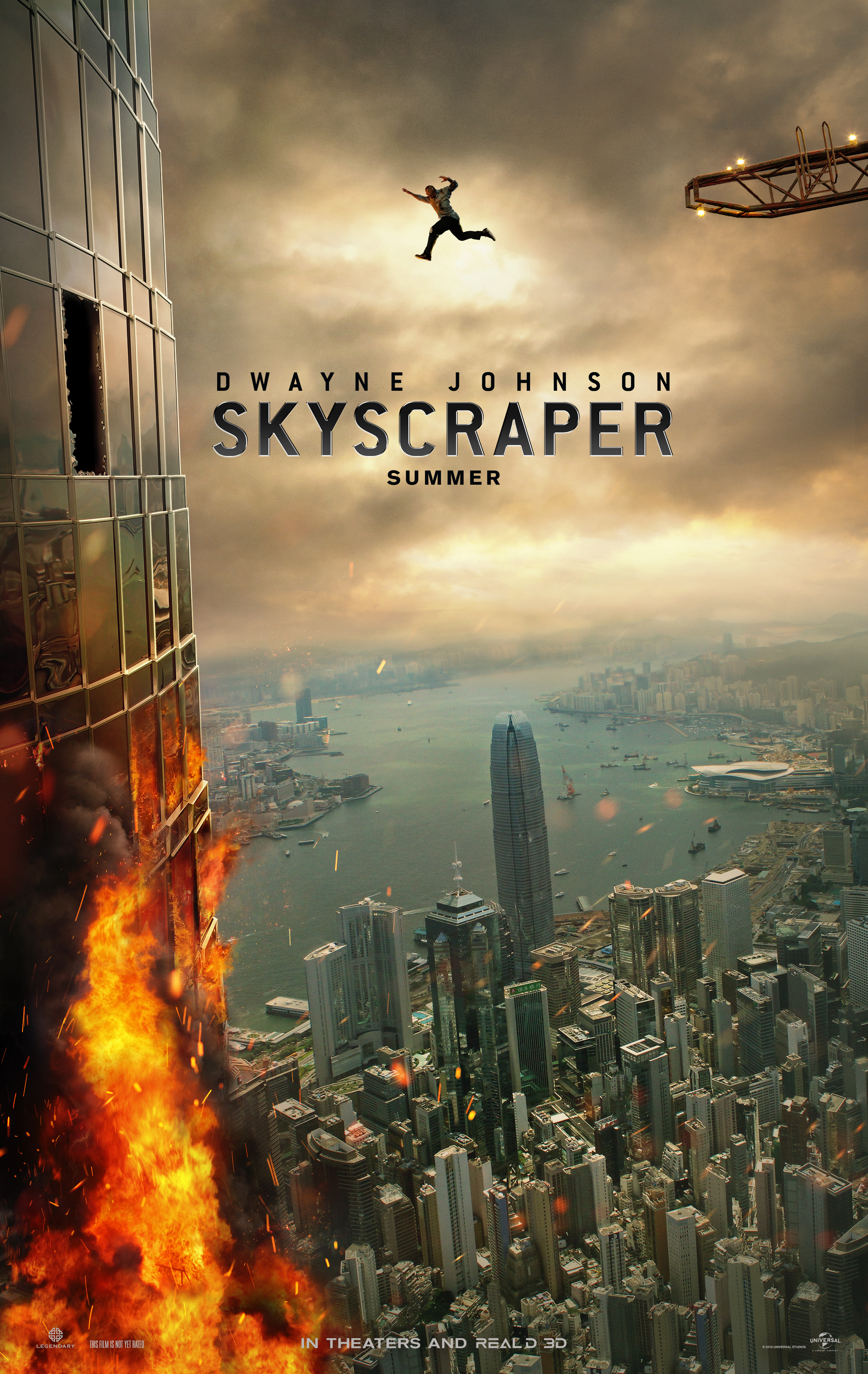 The Rock's 'Skyscraper' Movie: Is That a Real Building