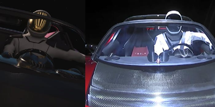 SpaceX starman expectations vs reality
